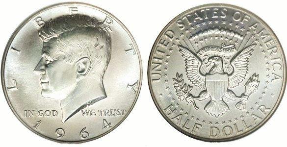 1964 US Half Dollar