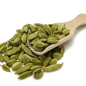 Cardamom is a spice used heavily in middle eastern and Indian cooking. Similar to cinnamon, this seed lowers blood pressure.