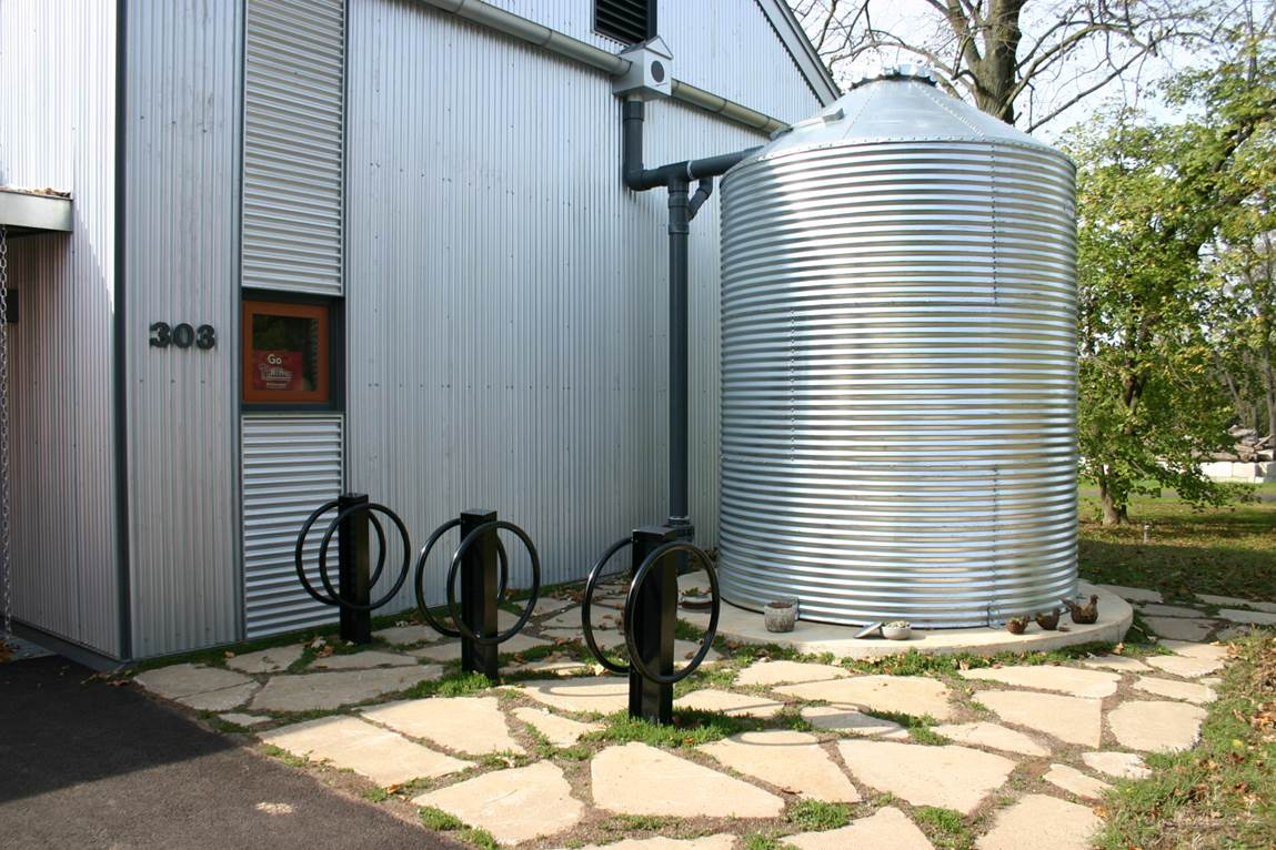 10 cool rainwater collection systems ready tribe for Rainwater harvesting at home