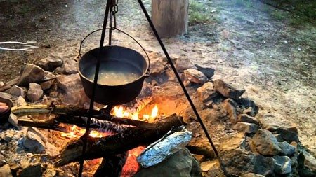 Cooking and Camping