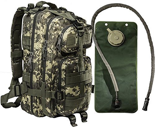 pack with hydration bladder