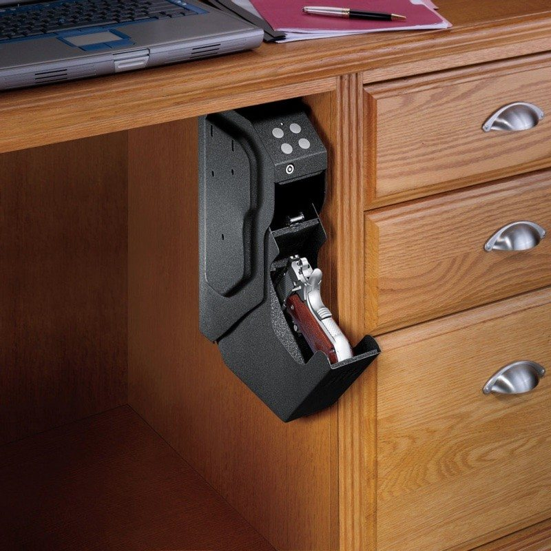 Under Desk Hidden Gun Safe