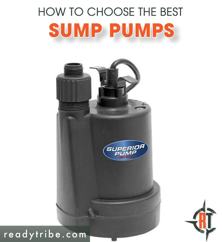 The Best Sump Pumps Available Ready Tribe